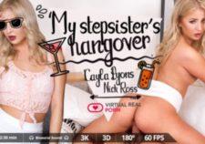 My stepsister's hangover Cayla Lyons & Nick Ross