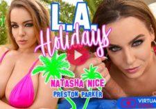 L.A. Holidays Natasha Nice & Preston Parker